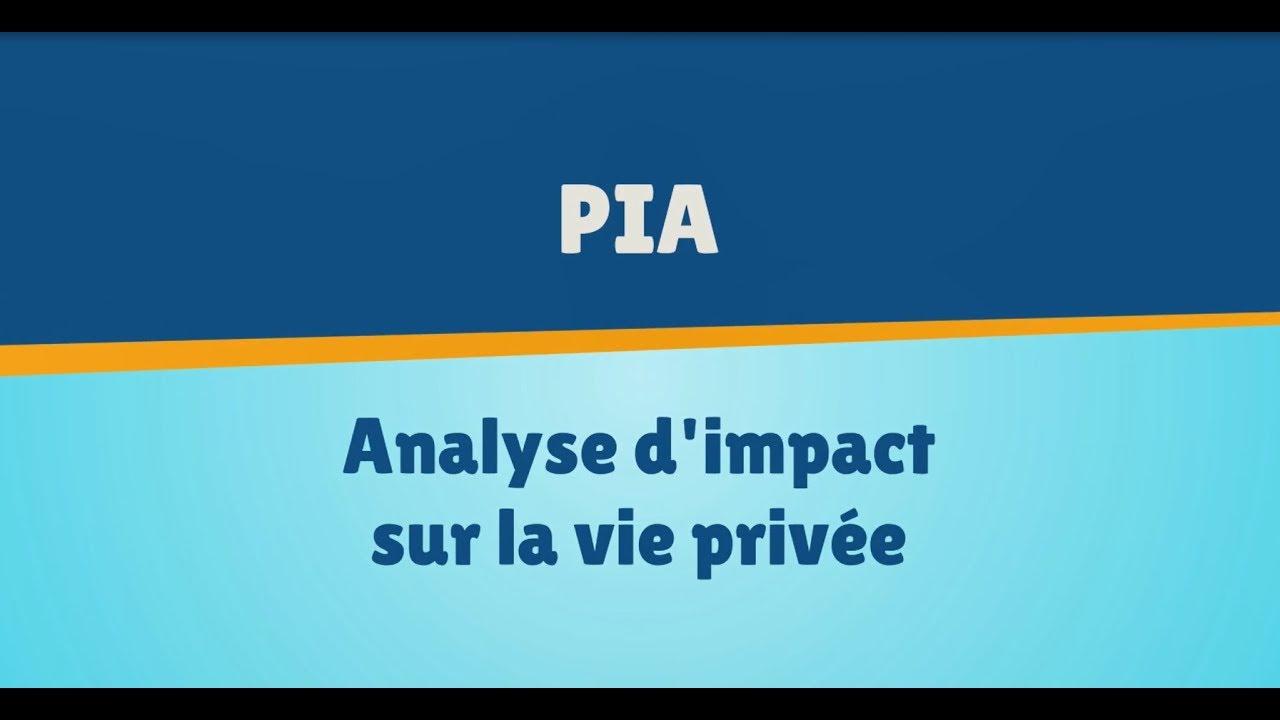 Pia rgpd : Protéger ses données personnelles