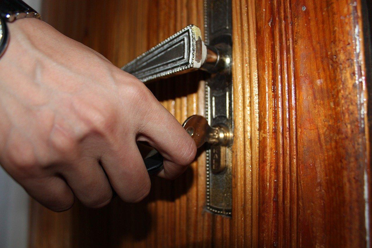 ouvrir porte clé