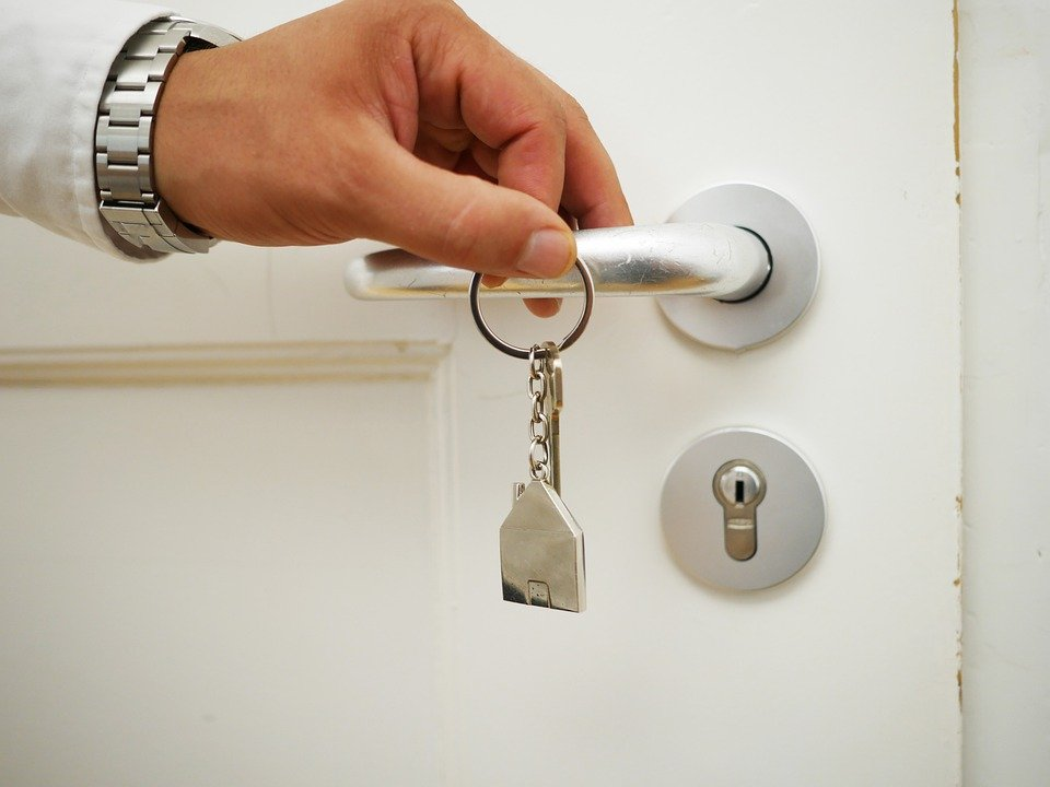 clés porte serrure